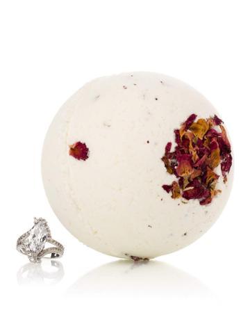 Morning Rose Bath Bomb W/ Luxury Ring