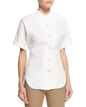Liko Short-sleeve Button-front
