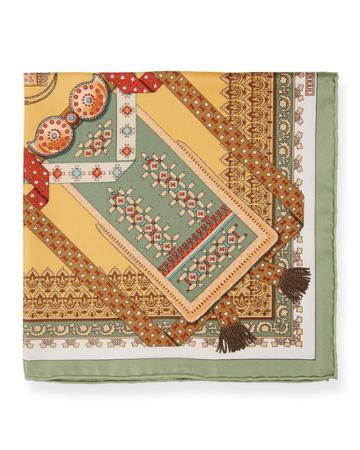 Estate Silk Multipattern Pocket