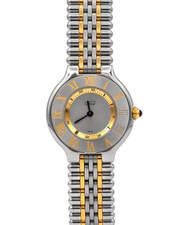 Pre-owned Must De Cartier 21 Bracelet Watch