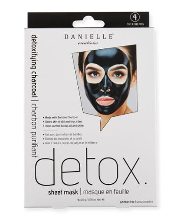 Detoxifying Charcoal Sheet Masks,