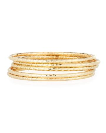 Golden Bangle Bracelets,