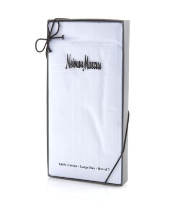 Neiman Marcus Boxed Handkerchief Set,