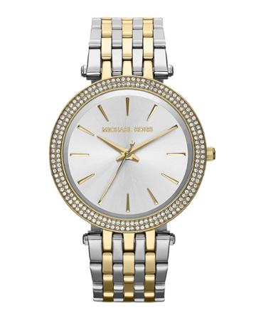 39mm Darci Glitz Bracelet Watch, Two-tone