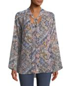 Taylor Tie-front Tunic