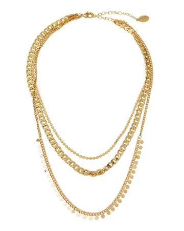 Petra Layered Chain Necklace