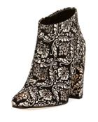 Cambell Damask Ankle Boot