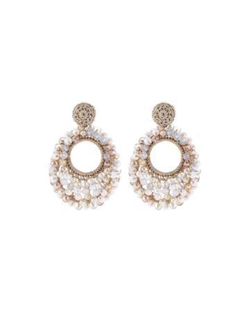 Sienna Beaded Drop Earrings