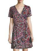 Marlina Jersey Wrap Dress