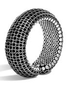 Dot Medium Flex Cuff Bracelet In White,
