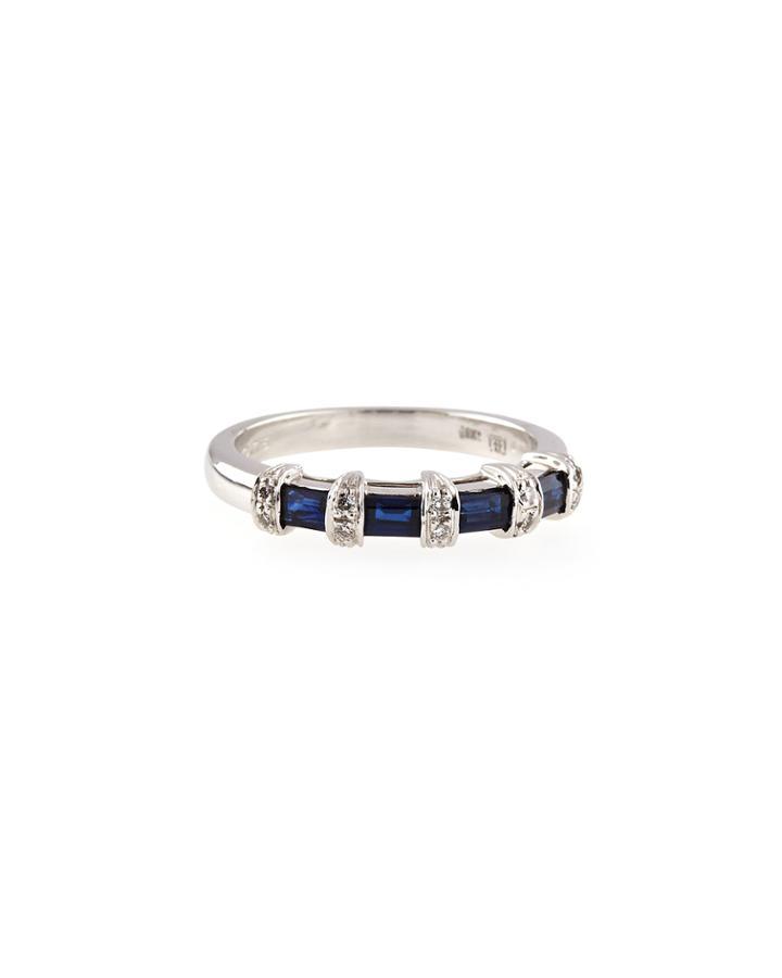 Favero Sapphire & Diamond Ring, Size