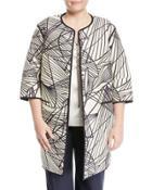 Darby Reversible Long Jacket,