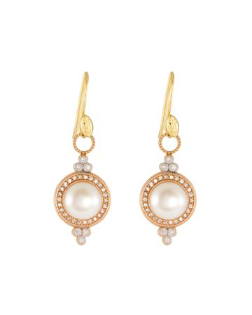 Provence Pearl Drop Earrings In