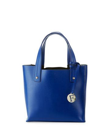 Musa Small Leather Tote Bag