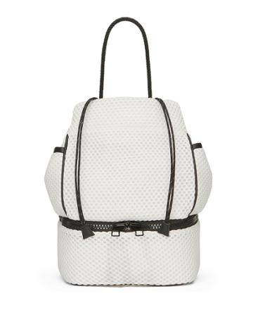 Plunge Two-tone Drawstring Backpack