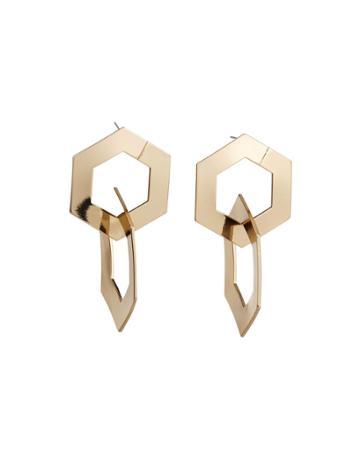 Chemistry Hoop-drop Earrings