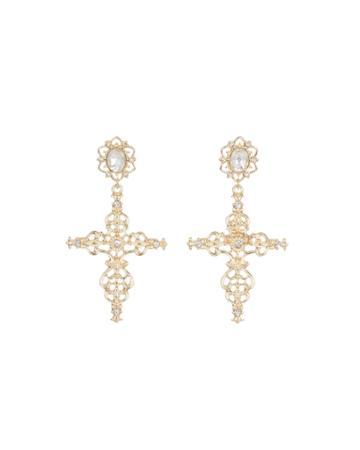 Purity Small Cross Earrings
