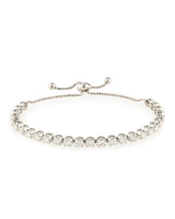Neiman Marcus 14k Adjustable Diamond Bracelet, 4.0 Tcw, Women's, Gold