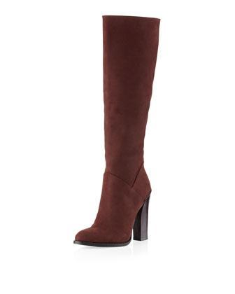 Boutique 9 Feliece Tall Suede Boot, Brown