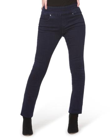 Rebeccah High-rise Pull-on Straight-leg Jeans