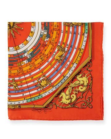 Estate Silk Calendar Pocket