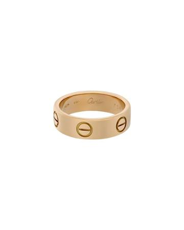 18k Yellow Gold Love Ring,