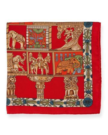 Estate Silk Torana Pocket