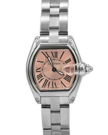 Pre-owned Roadster Bracelet Watch W/ Pink Dial