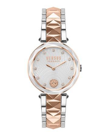 36mm Covent Garden Crystal Watch W/ Studded Bracelet,