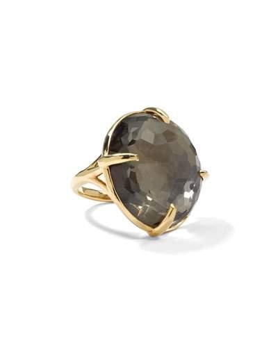 18k Large Pyrite Gelato Ring,