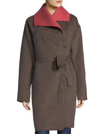 Double-face Robe Coat