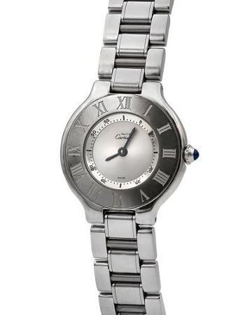 Pre-owned 28mm Must De Cartier 21 Bracelet Watch