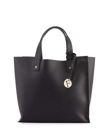 Musa Medium Leather Tote Bag