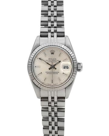 Pre-owned 26mm Datejust 18k White Gold Bracelet Watch