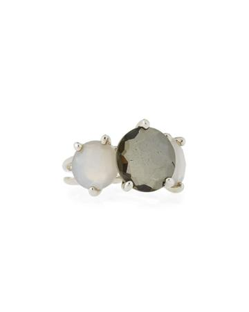 Rock Candy 3-stone Ring, Gray
