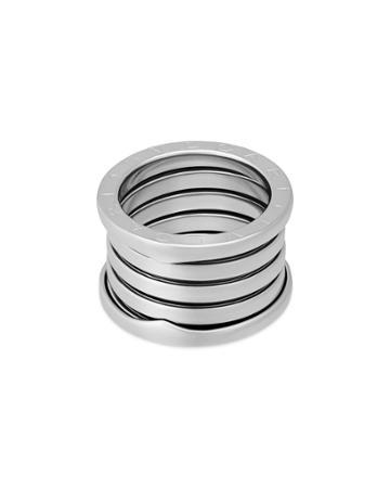 Estate 18k White Gold B.zero1 5-band Ring,