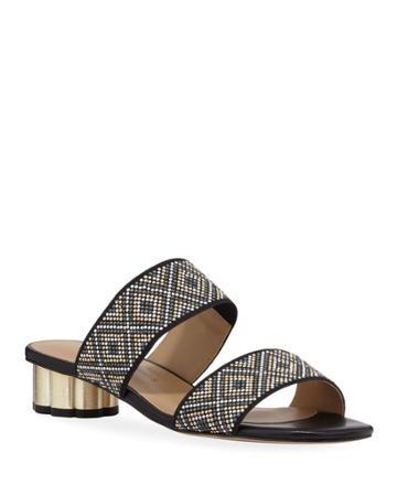 Macie Studded Low-heel
