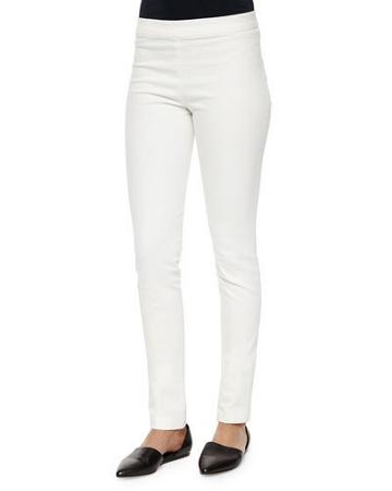 Stratton Stretch Leggings, White