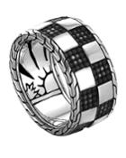Men's Classic Chain Poleng Band Ring,