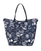 Everygirl Printed Zip-top Tote Bag