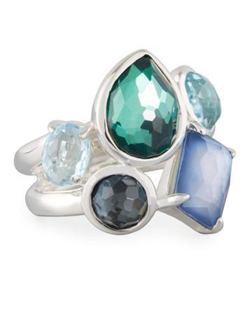 Wonderland Multi-stone Ring In