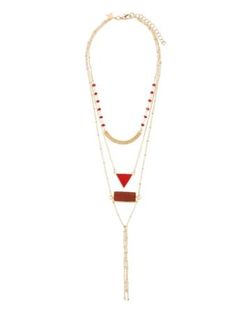 Multilayer Crystal Necklace