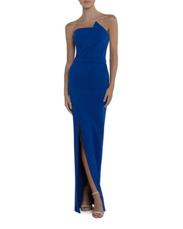 Camilla Strapless Column Gown