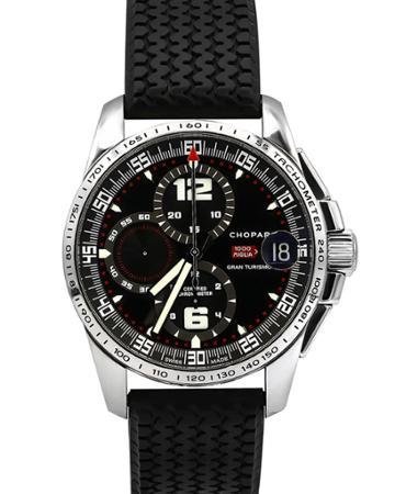 44mm Mille Miglia Gran Turismo Watch W/ Rubber