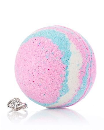 Unicorn Bath Bomb W/ Luxury Ring