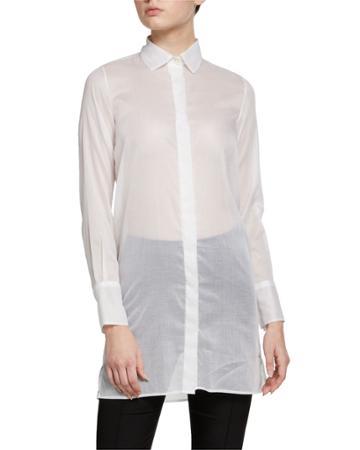 Sheer Cotton Blouse