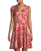 Cherry-blossom Silk Sleeveless