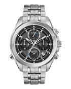 44.5mm Men's Chronograph Bracelet Watch