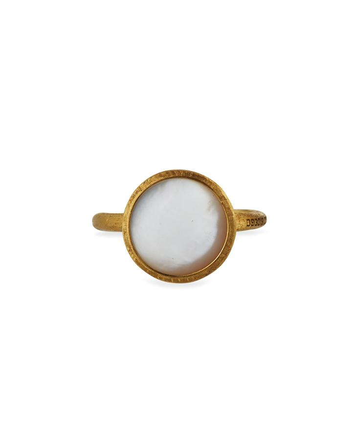 18k Mother-of-pearl Ring,