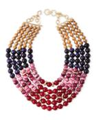 Multilayer Necklace W/